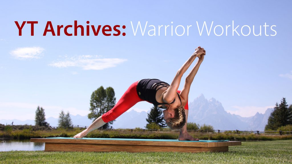 Warrior Workout on YogaToday